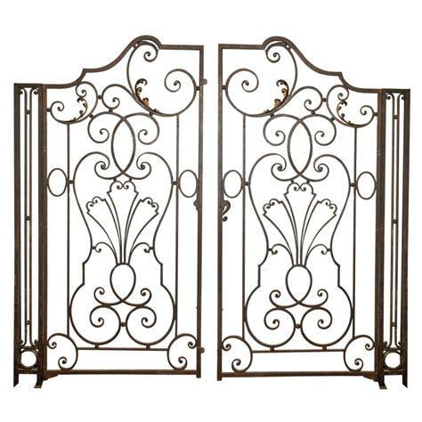 wrought iron garden gate garden wrought iron gate