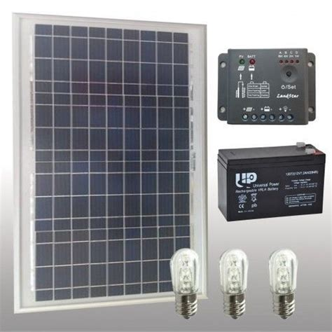 lade con pannello solare kit votivo con pannello solare 20w led batterie kit