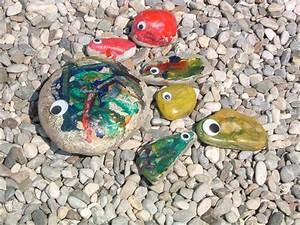 Steine Bemalen Wasserfest : kinderbasteln ~ Frokenaadalensverden.com Haus und Dekorationen