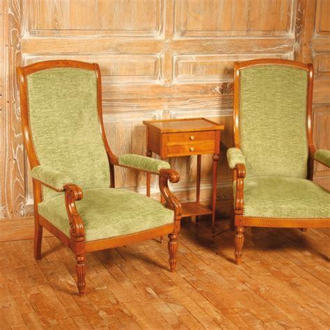 fauteuil mauzancieux style restauration louis philippe ateliers allot meubles et si 232 ges de