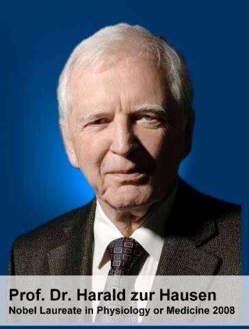 Nobel Laureate Harald Zur Hausen, Md To Speak At 23rd