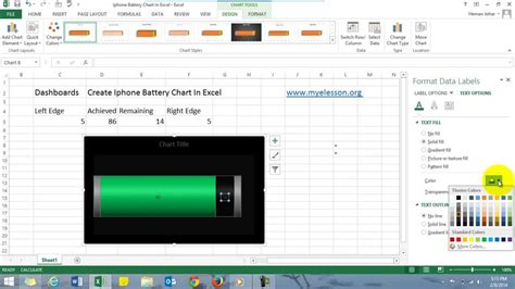 excel for iphone excel dashboards for beginners iphone battery chart in