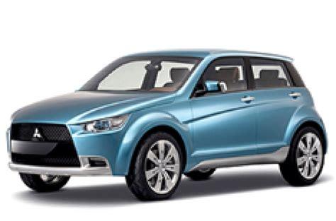 Small Suv by Mitsubishi To Hurry Small Suv In Autocar