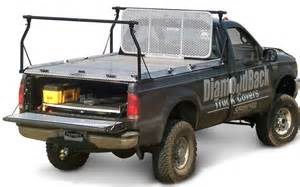 Pace Edwards Bed Cover by Diamondback Four Post Ladder Rack Truck Bed Rack System