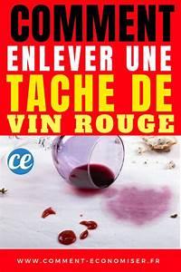 Enlever Tache De Vin Rouge : que faire avec le reste de vin rouge une astuce originale ~ Melissatoandfro.com Idées de Décoration