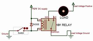 12 Relay Switch Pinout  Equivalent  Driver Circuit  U0026 Datasheet