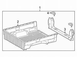 Toyota Tacoma Truck Bed Assembly  Double Cab  W  Longbed  Regular Cab  U0026 Access Cab