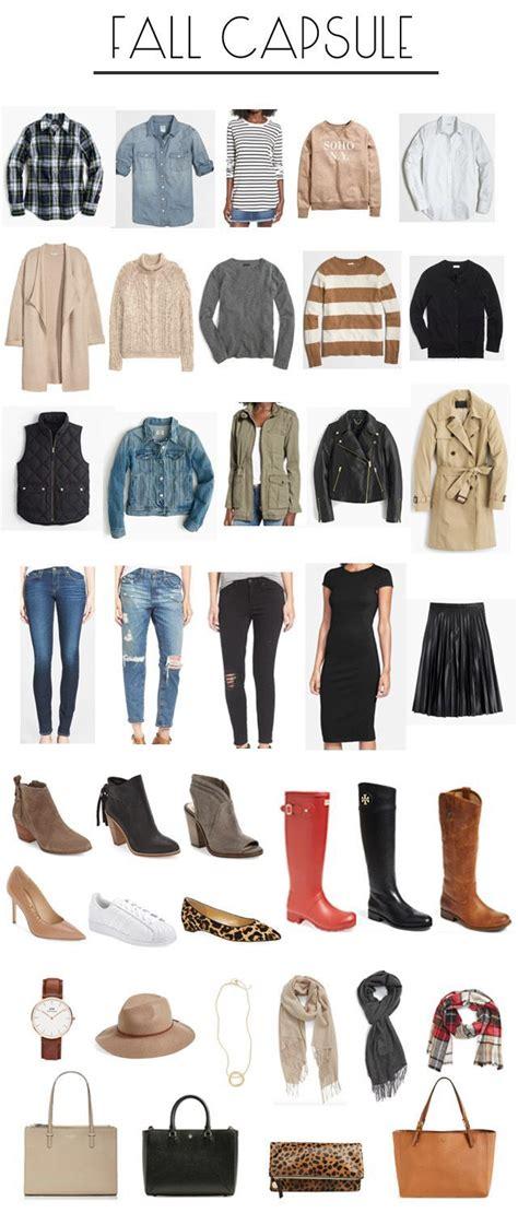Building A Wardrobe by Building A Fall Capsule Wardrobe Fashion Fall Fall