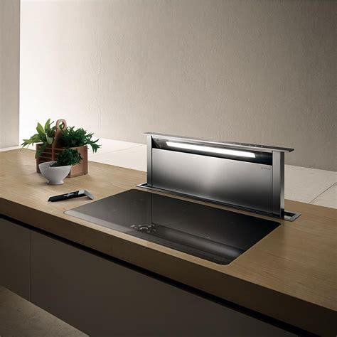 hotte cuisine encastrable elica hotte escamotable adagio pour plan de travail