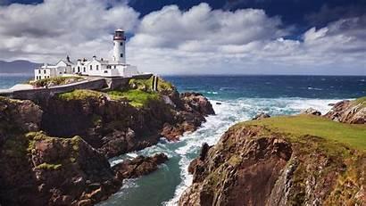 Lighthouse Ireland Beach Fanad Widescreen Laptop Wallpapers