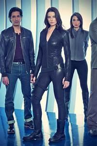 Rachel Nichols Continuum season 2 promo pics - Leather ...