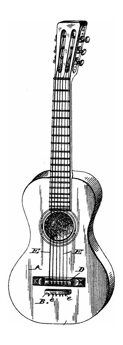 Guitar Clipart Strings Classical Nylon String Musical