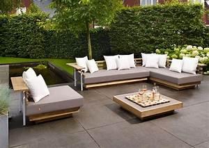 Spa En Bois Pas Cher : salon de jardin bois et metal salon de jardin teck pas ~ Premium-room.com Idées de Décoration