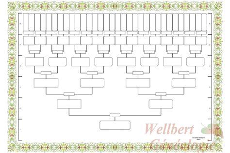 Gratuit Arbre G N Alogique Ascendant Vierge 5 Feuille Arbre Genealogique A Imprimer T L Charger En Ligne