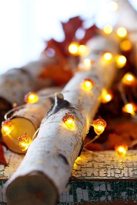 fall string lights 26 cozy fall d 233 cor ideas with lights shelterness