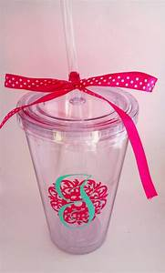 Best 25 acrylic tumblers ideas on pinterest wine for Vinyl letters for plastic cups