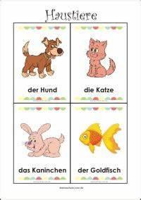 Haustiere Für Kinder : kostenlose arbeitsbl tter f r die vorschule ~ Orissabook.com Haus und Dekorationen