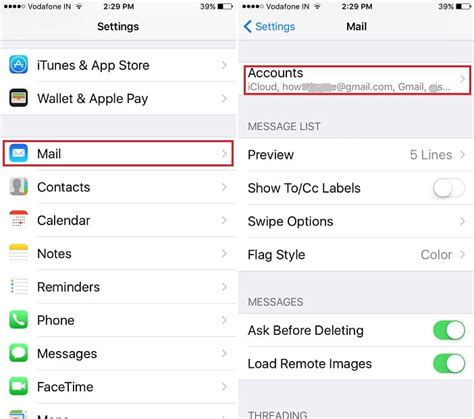 iphone email not working how to change email in icloud on iphone 6 howsto co