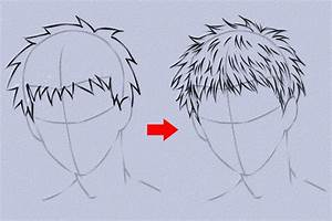 How to Draw Anime Hair » VripMaster