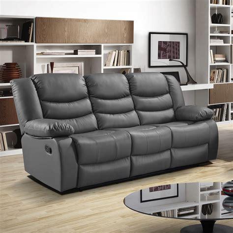 gray reclining sofa and loveseat dark gray leather sofa hereo sofa
