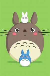 Cute Totoro #Cartoon wallpaper - @mobile9   iPhone 6 ...
