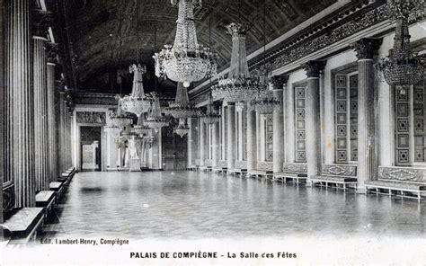 photo 224 compi 232 gne 60200 palais de compi 232 gne la salle des f 234 tes vers 1914 carte postale