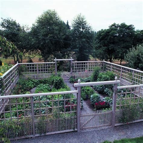 deer proof garden fence ideas sunset