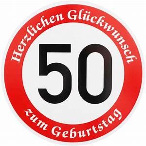 Geburtstagsbilder Zum 50 : verkehrsschild 50 geburtstag verkehrszeichen stra enschild geburtstags schild ebay ~ Eleganceandgraceweddings.com Haus und Dekorationen