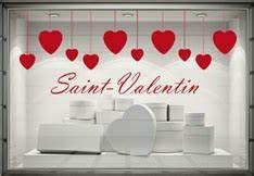 Vitrine Saint Valentin : stickers vitrines saint valentin paris graphicarts ~ Louise-bijoux.com Idées de Décoration