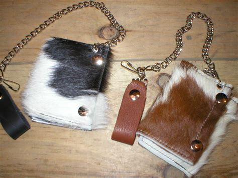 Hair On Cowhide Leather by Handmade Usa Leather Hair On Genuine Cowhide Fur Trifold