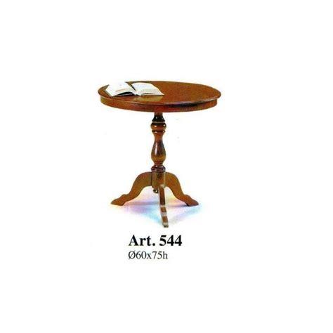 tavolini comodini tavolino tondo alto da soggiorno in legno arte