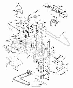 32 Husqvarna 48 Mower Deck Belt Diagram