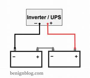 How To Connect Batteries In Series With Power Inverter Or