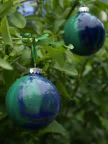 diy painted glass ornament christmasornaments