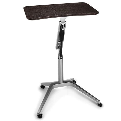 levenger lap desk stand sit to stand rolling workstation levenger yes please