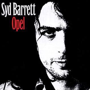 Opel Syd Barrett opel album