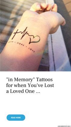 loving memory tattoos images awesome tattoos