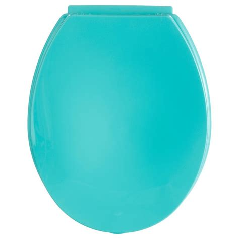 accessoires wc turquoise abattant wc turquoise