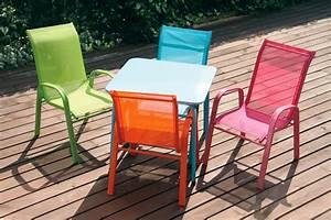 Salon De Jardin Pour Enfant : table de jardin enfant funny ~ Dailycaller-alerts.com Idées de Décoration