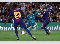 Cristiano Ronaldo vs Barcelona Super Cup First Leg