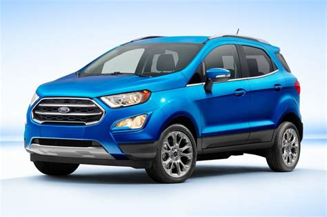 2018 Ford Ecosport Information