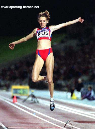 Tatyana KOTOVA - 2002 World Cup & European long jump ...