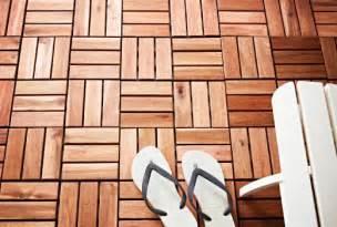 holzfliesen balkon decking outdoor flooring ikea