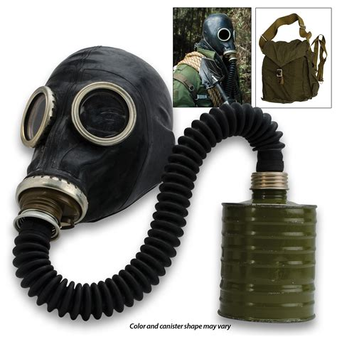 russian military surplus gas mask schm   hose