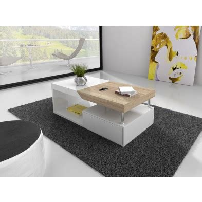 table basse meuble salon relevable ou avec pouf