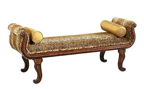Animal Print Benches by 15 Animal Print Bedroom Benches For Safari Inspired