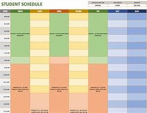 Schedule A Template  U2013 Printable Schedule Template