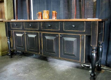 inspirations  black sideboards  buffets