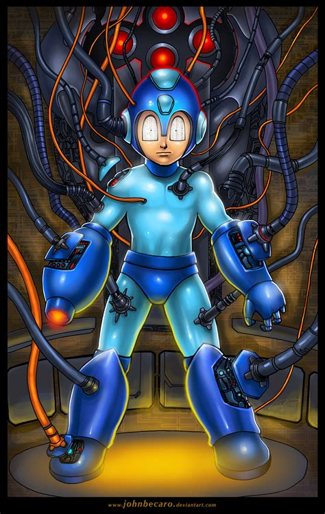 Megaman Upgraded By Johnbecaro On Deviantart