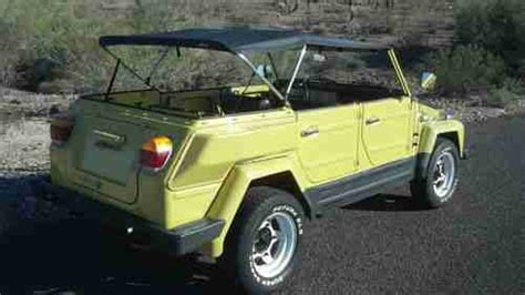 volkswagen thing yellow sell used volkswagen thing safari 1974 yellow 181 in